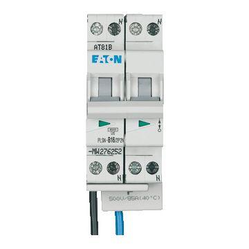 Eaton installatieautomaat 2 55, meeschakelende nul, 4 polen (totaal), kar B