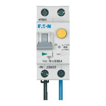 Eaton aardlekautomaat 1 55, kar B, nom. (meet) 230V, nom. (meet)str 16A