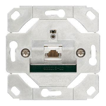Gira netwerkaansluitdoos 1xRJ45-8P4C, cat6A