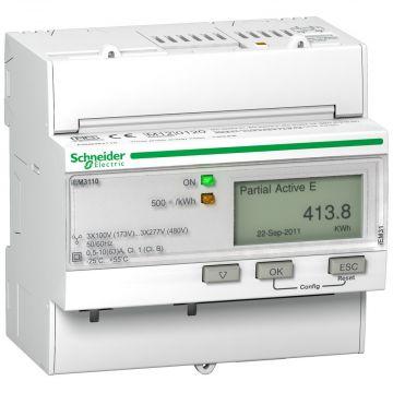 Schneider Electric Acti9 KWh meter met puls 63A