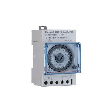 Legrand analoge schakelaarklok voor paneelbouw MicroRex, 53x86x68mm