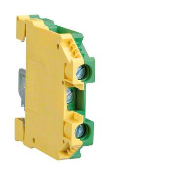 Hager aardrijgklem, groen/geel, le 51mm, PEN- mogelijk