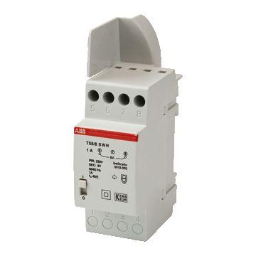 ABB beltransformator Hafonorm, 110x38x70mm, prim 230V, sec 1 8V
