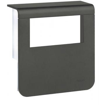 Hager opbouw ds pl gt aansluitingpunt SL, kunststof, zwart, ho pl gt 80mm