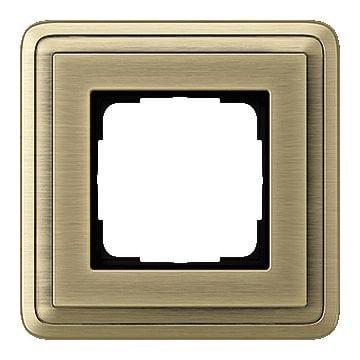 Gira ClassiX enkelvoudig kunststof afdekraam brons