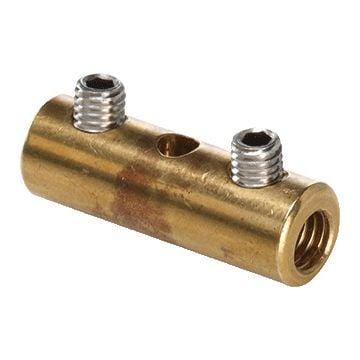 3M schroefverbinding voor koperkabel LV, 2 schroeven, blank