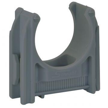 Schnabl kabelbuisklem EC, kunststof, grijs, voor buisdiameter 19mm