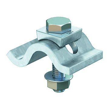 Obo balkklem c-model doorl TKS L, staal, voor flensdikte 25mm
