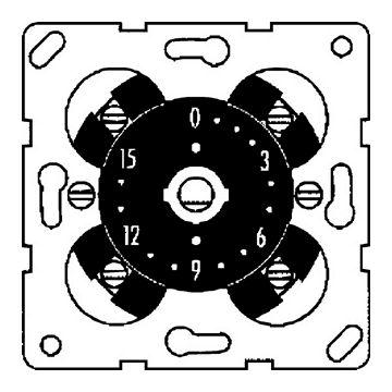 PEHA tijdschakelklok 16A 250V~ 2-polig max. insteltijd 120 minuten