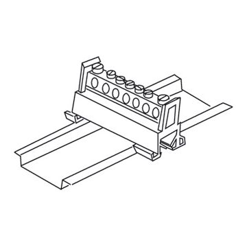Kleinhuis potentiaalvereffeningsrail, 33x23.5x51mm