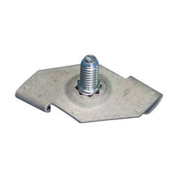 Caddy veerklem draaiklem CADDY 4G, staal, aansluitingwijze bouwdeel draad