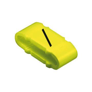 Weidmüller kabel-/adercod CLIM CLIM2-4, kunststof, geel, le 4mm, 317mm