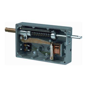 Grothe el deurslot, uitvoering ketting-deuropener, vorm slotplaat vlak