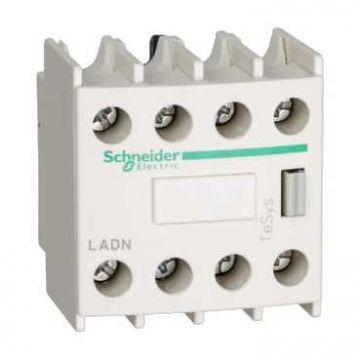 Schneider Electric TeSys D hulpcontactblok, 4 verbreek, 10A