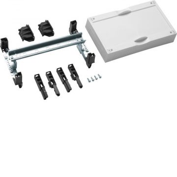 Hager inbouwunit leeg univ Ledig-gesl, 150x250x125mm, 1 DIN-rails