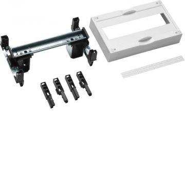 Hager inbouwunit leeg univ DIN-rails, 150x250x125mm, 1 DIN-rails