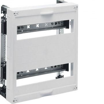 Hager inbouwunit leeg univ DIN-rails, 300x250x125mm, 2 DIN-rails