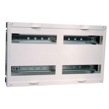 Hager inbouwunit leeg univ DIN-rails, 300x500x125mm, 2 DIN-rails