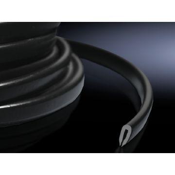 Rittal montageband glad DK, kunststof, zwart