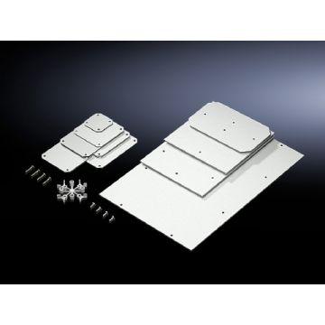 Rittal mont pl voor kast/lessenaar PK, kunststof, (hxb) 150x220mm, gelakt