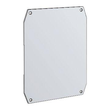 Eldon mont pl voor kast/lessenaar Uniplast UMPZ, staal, (hxb) 300x200mm