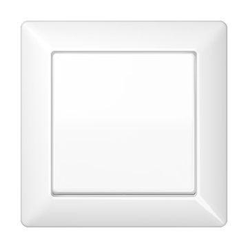 JUNG AS500 bedieningselement/centraalplaat kunststof, wit, uitvoering 1 wip