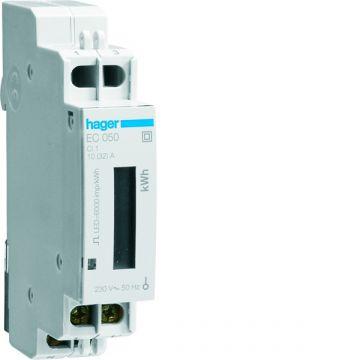 Hager elektriciteitsmeter directe meting EC, meter el