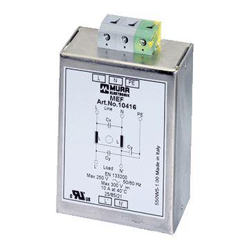 Murrelektronik netontstoorfilter MEF 1 fase, stuursp AC/DC
