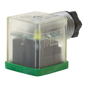Murrelektronik sensor-/actor-connector female/bus, zwart, stekker ventiel A