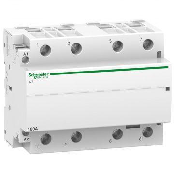 Schneider Electric ICT magneetschakelaar 4 maak, 100A, 230V
