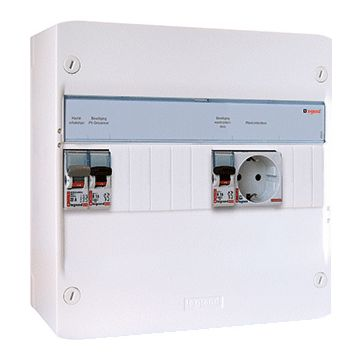 Legrand installatiekast PV-verdeler, 250x355x103.5mm, 1 fasen