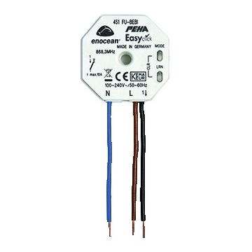 PEHA outlet-component Elektronica kunststof/metaal, zwart, bas elm