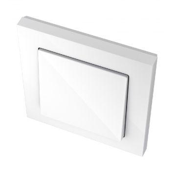 Schneider Electric Merten M-Plan enkele schakelaar kunststof RAL9010, wit