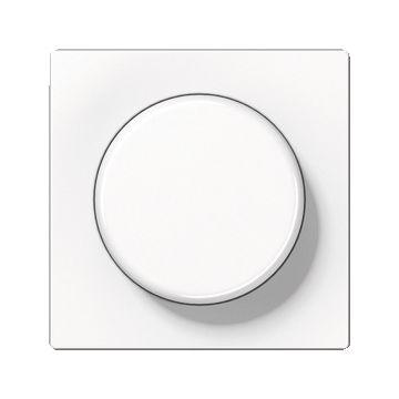 JUNG A500 bedieningselement/centraalplaat kunststof, wit, uitvoering drukknop