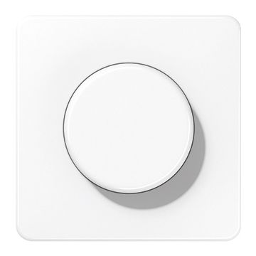 JUNG CD500 bedieningselement/centraalplaat kunststof, wit, uitvoering drukknop