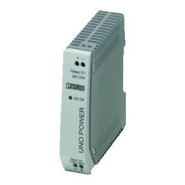 Phoenix Contact gelijkstroomvoedingseenheid UNO, 22.5x90x84mm, spanningstype AC