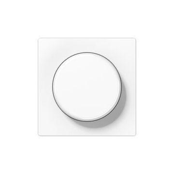 JUNG AS500 bedieningselement/centraalplaat kunststof, wit, uitvoering drukknop