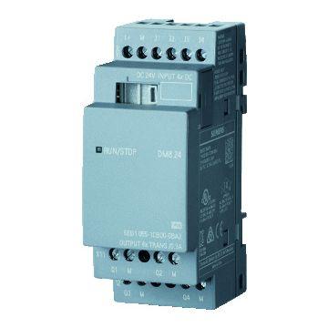 Siemens logische module LOGO, 90x35.5x58mm, 20.4-28.9V, str st 5A