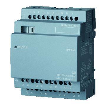 Siemens logische module LOGO, 90x71.5x58mm, 20.4-28.8V, str st 0.3A