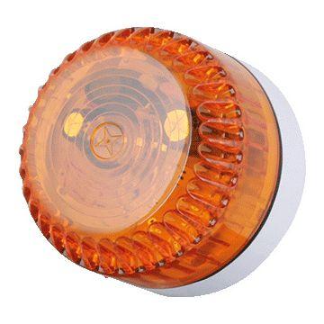 Eaton flitslicht Solex, str AC/DC, (IP) IP68, beh kunststof, lenskap amber