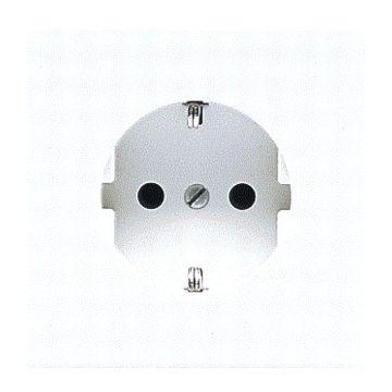 JUNG LS Range wandcontactdoos kunststof, alpinwit, uitvoering ra, 1 eenheid