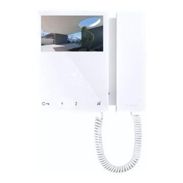 Comelit videohuistelefoon Mini Simplebus, wit, (hxbxd) 175x160x22mm