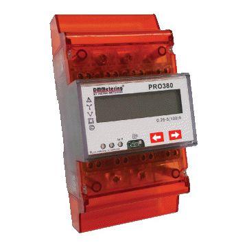 DMMetering elektriciteitsmeter directe meting DMMetering PRO KWh 72mm 5+2