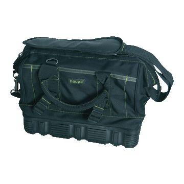 Haupa gereedschapkist/tas tas, polyester, zwart, (hxbxd) 280x320x190mm