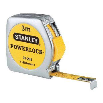 Stanley meetlint PowerLock, mylar. coating, (lxb) 3mx12.7mm, behuizing kunststof