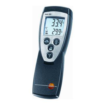 Testo temp meter 925, zwart, ind/aanduiding dig, meetbereik -50-+1000°C