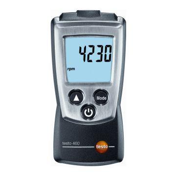 Testo handtoerenteller Pocketline, ind/aanduiding dig, display verlicht
