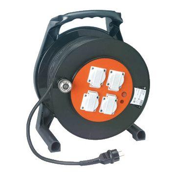 Tieman verl kabel hsp open BigEZ, beh kunststof, kabel voorz neopreen, 2.5mm²