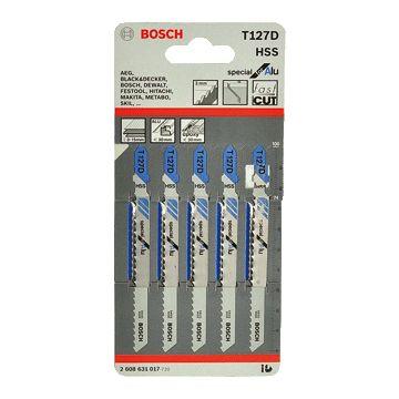 Bosch decoupeerzaagblad, le 100mm, aluminium, tandafstand (tandsteek) 3mm