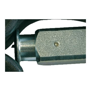 Haupa vervangingsmes, mesvorm recht, voor buisdiameter 4-16mm, kabifix